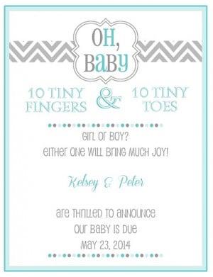 Funny Pregnancy Announcement Quotes Quotesgram