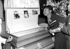 When Emmett Till was brutally murdered in 1955, his mother insisted on ...
