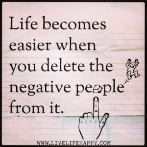 Negative people~