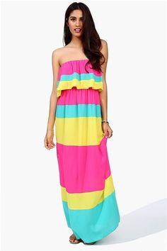 Crayola Dress - Fuchsia More