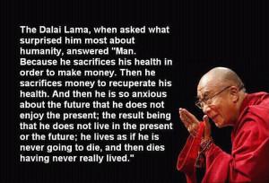 Inspiring People - Dalai Lama about life