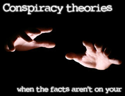 conspiracy theories poster
