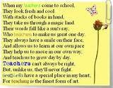 All Inspirational Poems For Teachers Pictures!