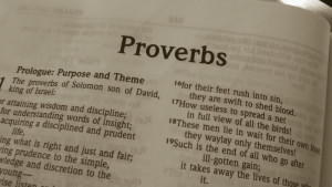 Digging Deeper through the Book of Proverbs