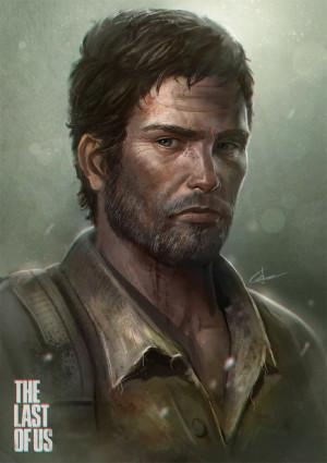 Joel Painting-- The Last of Us