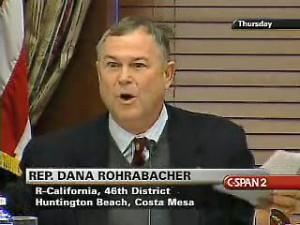 ... dana rohrabacher convened a image source dana rohrabacher convened a