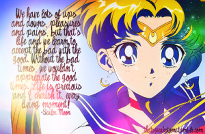 Sailor Moon # Tsukino Usagi # Anime # Quotes # Inspirational