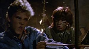 Trailer for The Lost Boys starring Corey Feldman and Corey Haim