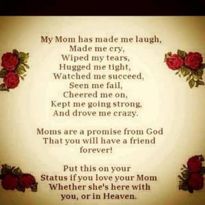 birthday mom rip love poems happy birthday mom rip my mom saved the ...