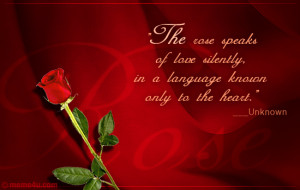 Love Quotes With Roses