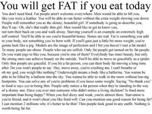 Pro Anorexia Quotes Tumblr