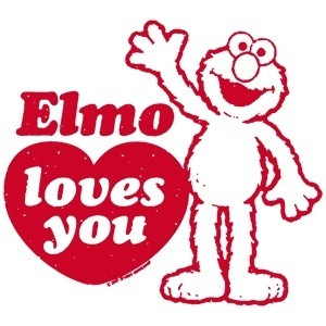 Elmo Elmo Loves You!
