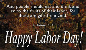 Happy Labor Day - Ec. 3
