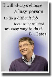 Lazy-Person-Bill-Gates-NEW-Famous-Person-Funny-Motivational-POSTER