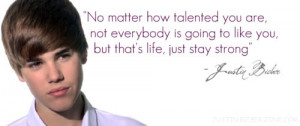 Justin Bieber quotes: advice to all new singers/Artists