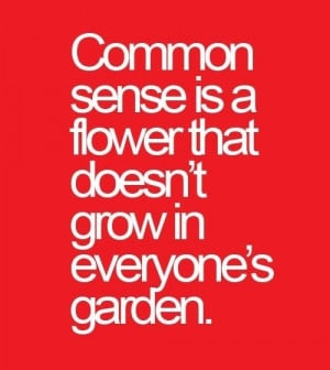 Sarcastic, quotes, sayings, common sense, meaning