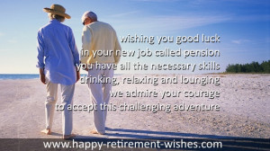WISHES RETIREMENT SPECIAL PERSONS