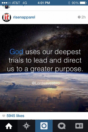 You have a purpose!