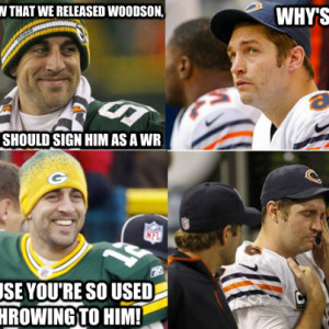 Funny Bears Packers Memes