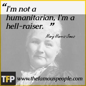Mary Harris Jones Biography