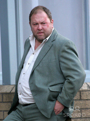 Mark Addy Filming Leeds The...
