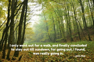 Earth Day inspirational quote by John Muir