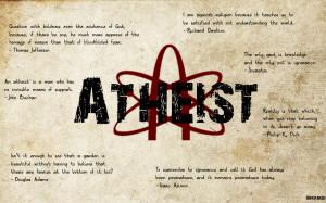 Atheist Quotes by Unikraken