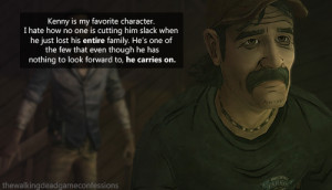 Walking Dead Game Kenny