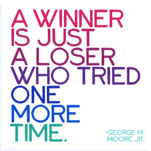 quotable card quotable a winner is just a loser £ 2 65 product ref ...