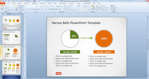 Free Color Strip Powerpoint