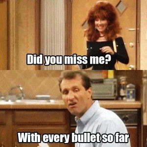 Married... with Children. Al Bundy's GOAT insults.