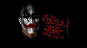 Showing results 1 - 15 out of 360,000 for dark knight joker quotes