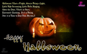 Halloween Sayings Desktop Wallpaper