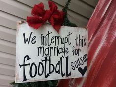 ... this marriage for #football season! ♥ #LSU #Quotes #Football