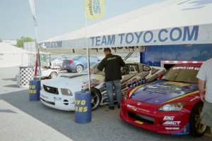 Drifting Cars Parked for repair Image