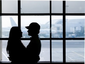 Long Distance Relationships: The ups and downs of the airports