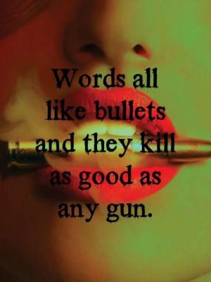 Girls With Guns Tumblr Quotes Run away