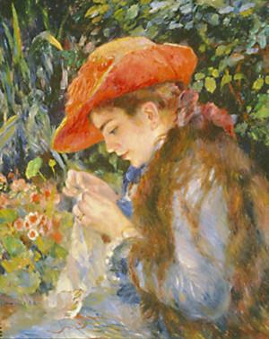 Marie-Thérèse Durand-Ruel cosint, 1882