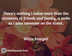Family Closeness Quotes Family Quotes Willie