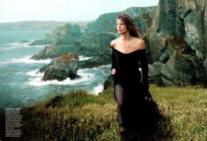 Vogue US Setembro 2013| Daria Werbowy e Adam River por Annie Leibovitz ...