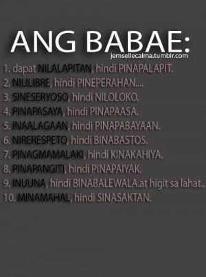 quotes pinoy kowts tagalog quotes tagalog love quotes banat quotes