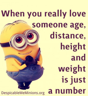 Minion Quotes I Love You. QuotesGram