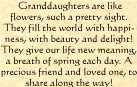 birthday quotes for granddaughters | ... Sayings, Verses and Quotes ...