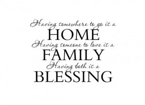... Wall Decal Wall Quote Saying for Living Room Family Room Foyer