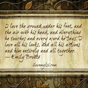 Emily Brontë quote from wuthering heights #quote #love #books