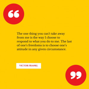 Great quote by Viktor E. Frankl. #psychology #GreatQuotes # ...