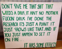 Katt Williams quote on weed canvas