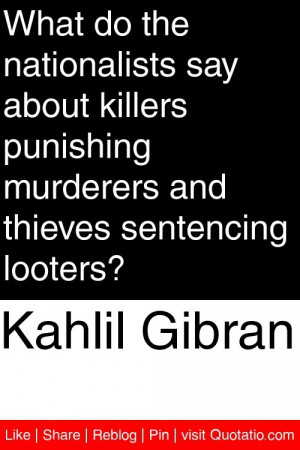 ... murderers and thieves sentencing looters? #quotations #quotes