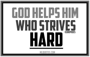 Please Help God Quotes...