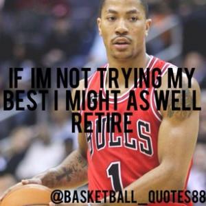 Derrick Rose #chicago #bulls #1 #bullsnation #drose #basketball #quote ...